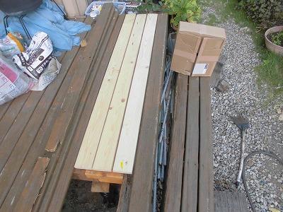 日曜大工教室~基礎からやり直し編~ 床板3枚が完成/どこまでもアマチュア